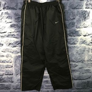 Nike Mens Black/Cream Track Pants